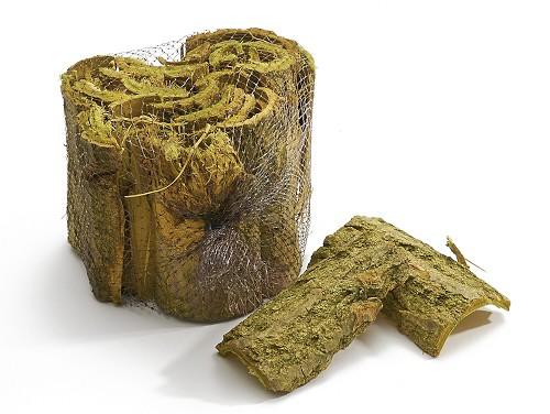 Pappelrinde grün gefärbt 1kg