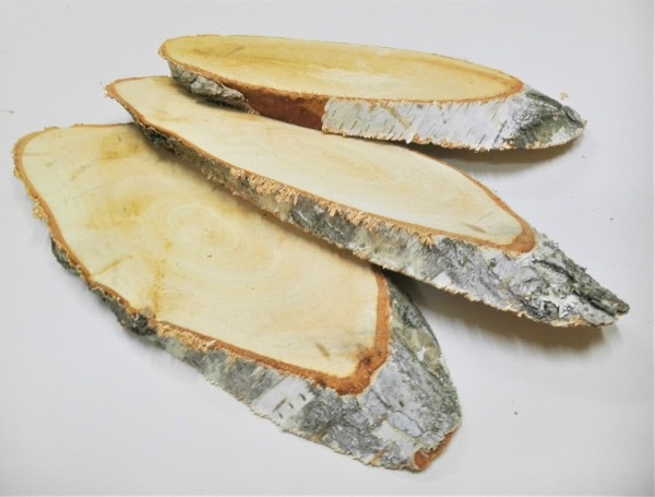 Birkenscheibe oval
