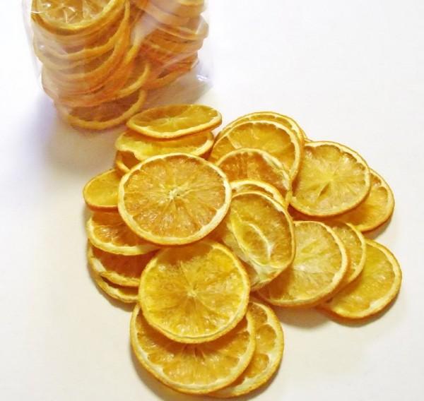 Orangenscheiben getrocknet Natur 250g