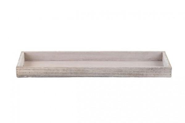 Tablett Schale Holz längs