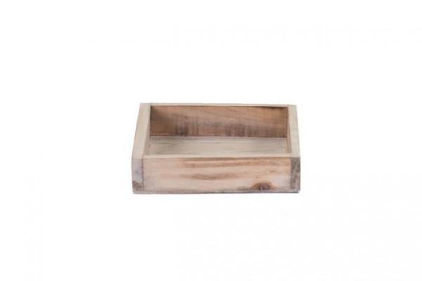 Holztablett natur quadratusch